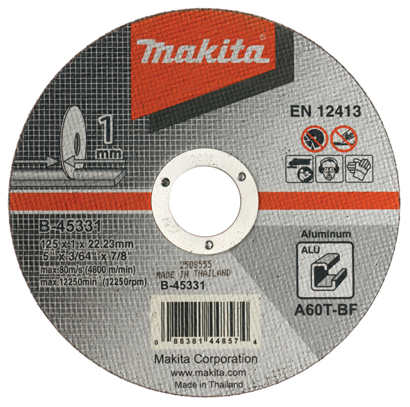 Griešanas disks Makita B-45331; 125x1 mm