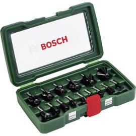 Frēžu komplekts Bosch; 15 gab.