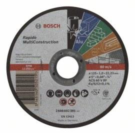 Abrazīvais griešanas disks Bosch C60 T BF; 125x1 mm