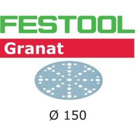 Smilšpapīrs ekscentra slīpmašīnai Festool STF 150 mm; 48; P320; GR; 10 gab.