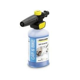 Putu tīrīšanas uzgalis Karcher Connect 'n'Clean FJ 10 C + automašīnas tīrīšanas līdzeklis Karcher; 1 l