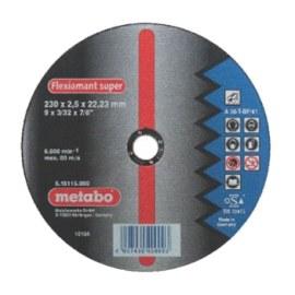 Abrazīvais griešanas disks Metabo; 230x2,5 mm metālam