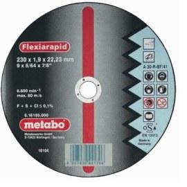 Abrazīvais griešanas disks Metabo; 230x1,9 mm metālam