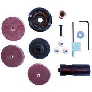 Kokgriezuma disks leņķa slīpmašīnai Arbortech Mini TURBO Set