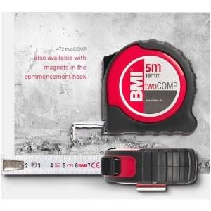 Mērlente BMI twoCOMP B472841021M; 8 m