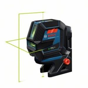 Lāzera nivelieris Bosch GCL 2-50 G + turētājs RM10