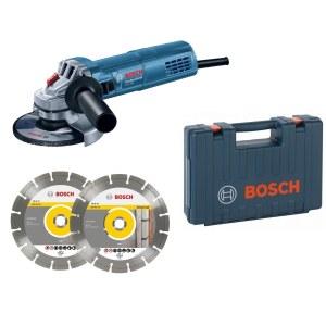 Leņķa slīpmašīna Bosch GWS 880 Professional + piederumi