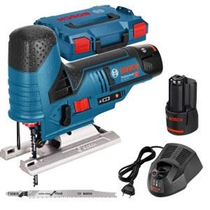 Figūrzāģis Bosch GST 12V-70 Professional; 12 V; 2x3,0 Ah akum.