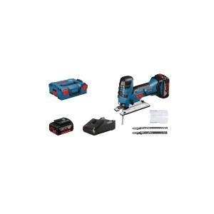 Figūrzāģis Bosch GST 18 V-LI S; 18 V; 2x4,0 Ah akum.