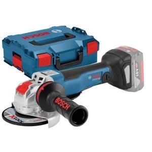 Leņķa slīpmašīna Bosch GWX 18V-10 PC SOLO X-Lock; 18 V (bez akumulatora un lādētāja)