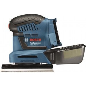 Orbitālā slīpmašīna Bosch GSS 18 V-10 (bez akumulatora un lādētāja)