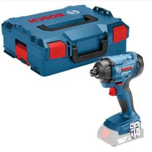 Triecienskrūvgriezis Bosch GDR 18V-160; 18 V (bez akumulatora un lādētāja)