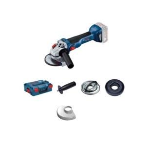 Leņķa slīpmašīna Bosch GWS 18V-10 Solo L-Boxx; 18 V; (bez akumulatora un lādētāja)