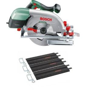 Ripzāģis Bosch PKS 66-2 AF + 3x35 cm vadlineāls