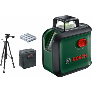Lāzera nivelieris Bosch AdvancedLevel + piederumi