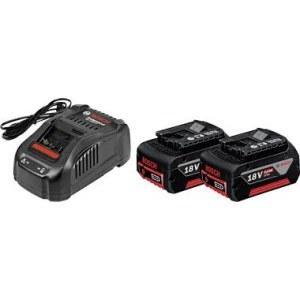Akumulators Bosch GBA; 18 V; 5,0 Ah; Li-ion; 2 gab. + lādētājs