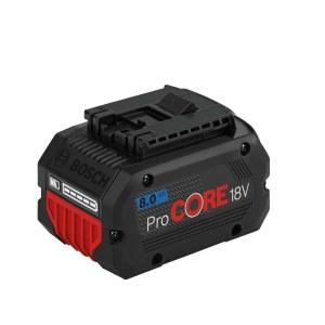 Akumulators Bosch ProCORE18V; 18 V; 8,0 Ah; Li-ion