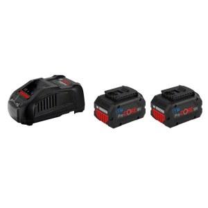 Piederumu komplekts Bosch GBA ProCORE; 18 V; 2x5,5 Ah akumulatoru. + lādētājs GAL 1880CV