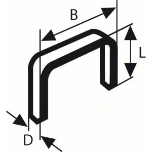 Skavas Bosch; 11,4x6 mm; 1000 gab.; tips 53