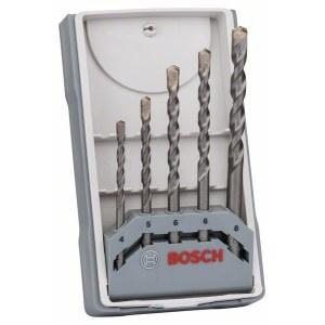 Betona urbju komplekts Bosch Silver Percussion; 4-8 mm; 5 gab.