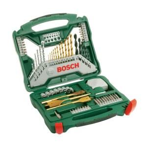 Piederumu komplekts (komplektā— 70vienumi) Bosch TITANIUM