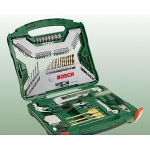 Piederumu komplekts ar 103 vienībām Bosch TITANIUM