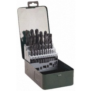 Metāla urbju komplekts Bosch HSS-R; 1-13 mm; 25 gab.
