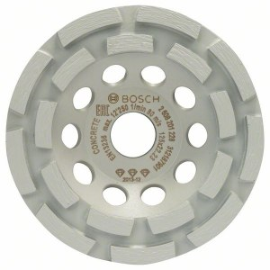 Dimanta slīpēšanas disks Bosch; Best for concrete; Ø 125 mm