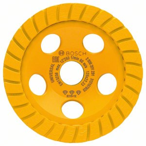 Dimanta slīpēšanas disks Bosch; Best for abrasives; Ø 125 mm