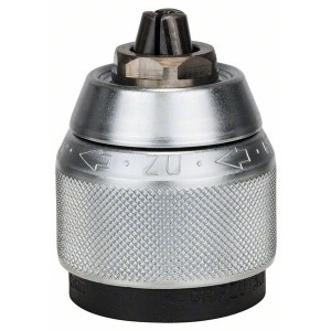 Ātras fiksācijas patrona Bosch GSB; 1,5-13 mm hromēts