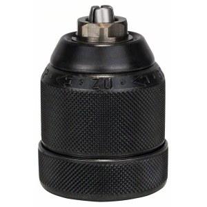Ātras fiksācijas patrona Bosch; 1-10 mm; 1/2''-20