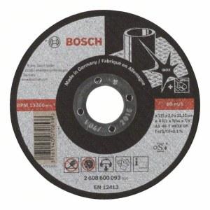 Abrazīvais griešanas disks Bosch AS 46 T INOX BF; 115x2 mm