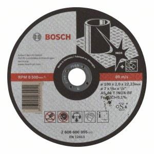 Abrazīvais griešanas disks Bosch AS 46 T INOX BF; 180x2 mm