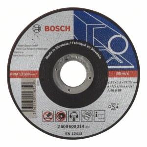 Abrazīvais griešanas disks Bosch A46 S BF; 115x1,6 mm