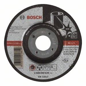 Slīpēšanas disks Bosch AS 30 S INOX BF; 115x6 mm