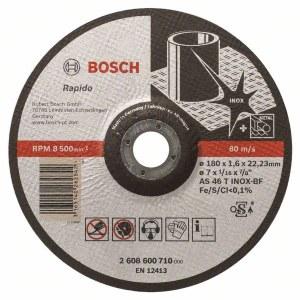 Abrazīvais griešanas disks Bosch AS 46 T INOX BF; 180x1,6 mm