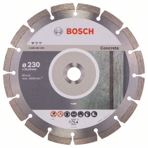 Dimanta griešanas disks Bosch PROFESSIONAL FOR CONCRETE; 230