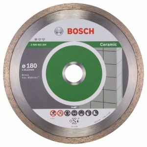 Dimanta griešanas disks Bosch PROFESSIONAL FOR CERAMIC; 180 mm