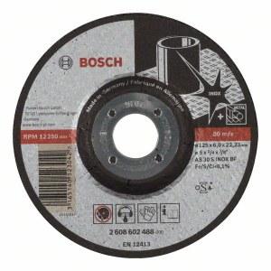 Slīpēšanas disks Bosch AS 30 S INOX BF; 125x6 mm