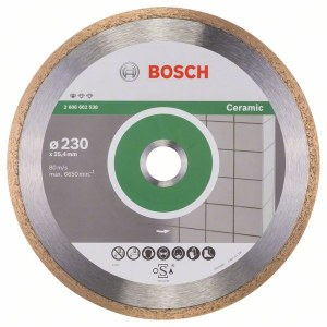 Dimanta griešanas disks Bosch PROFESSIONAL FOR CERAMIC; 230 mm