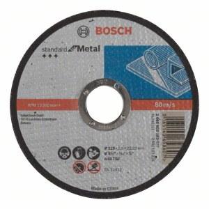 Abrazīvais griešanas disks Bosch Standard; 115x1,6 mm