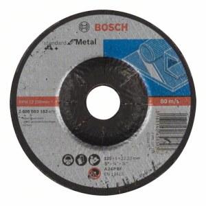 Slīpēšanas disks Bosch Standard; 125x6 mm