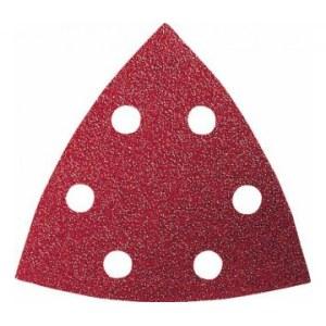 Smilšpapīrs deltveida slīpmašīnām Red Wood-top; 93 V; K400; 5 gab.