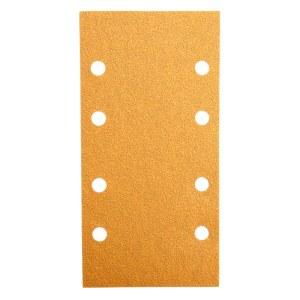 Daudzfunkcionālajām orbitālajām slīpmašīnām paredzētā smilšpapīra loksnes Best for Wood; 93x186 mm; K60; 10 gab.