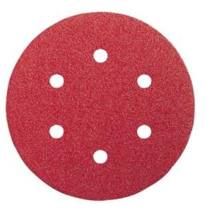 Smilšpapīrs ekscentra slīpmašīnai Expert for Wood; 150 mm; K80; 5 gab.