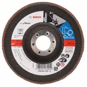 Lāpstveida slīpēšanas disks Bosch 2608607320; 125 mm; K120
