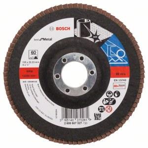 Lāpstveida slīpēšanas disks Bosch Best for Metal; 125 mm