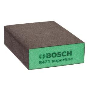 Slīpēšanas švamme Bosch Flat&Edge; 69x97x26 mm; P320-500