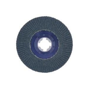 Lāpstveida slīpēšanas disks Bosch X-LOCK; 125 mm; K 120; 1 gab.