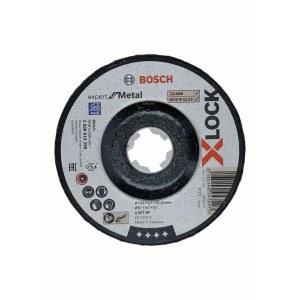 Slīpēšanas disks Bosch Expert for Metal X-LOCK; Ø125x6,0 mm